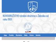 WEBOVÁ STRÁNKA Kovodružstvo, v.d. Kovovýroba Žebrák