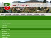 WEBOVÁ STRÁNKA Obec Čenkov
