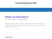 WEBOVÁ STRÁNKA Ing. Pavel Dvořáček Geodetická kancelář Tábor