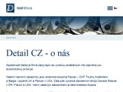 WEBOVÁ STRÁNKA DETAIL CZ s.r.o. kovovýroba
