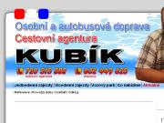 WEBOVÁ STRÁNKA CESTOVNÍ AGENTURA JIŘÍ KUBÍK