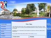 WEBOVÁ STRÁNKA Obec Slapy u Tábora