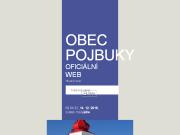 WEBOVÁ STRÁNKA Obec Pojbuky
