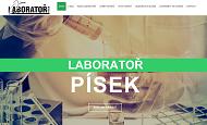 WEBOVÁ STRÁNKA Laboratoř Písek, akreditovaná chemická a mikrobiologická laboratoř Ing. Josef Němec
