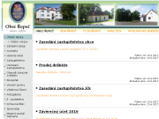 WEBOVÁ STRÁNKA Obec Řepeč