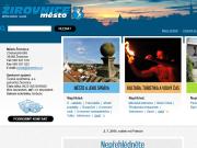 SITO WEB Mesto Zirovnice Mestsky urad Zirovnice