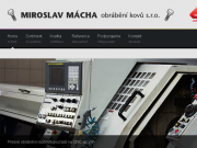 SITO WEB Miroslav Macha obrabeni kovu s.r.o.