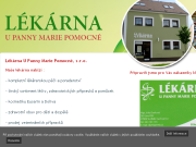 WEBOVÁ STRÁNKA Lékárna U Panny Marie Pomocné, s.r.o.