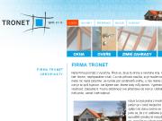 WEBOVÁ STRÁNKA TRONET, spol.s r.o.