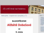 SITO WEB Zakladni skola a Materska skola Straz nad Nezarkou