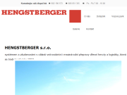WEBOVÁ STRÁNKA HENGSTBERGER s.r.o.