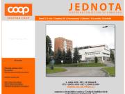 WEBOVÁ STRÁNKA Jednota, spotřební družstvo ve Vimperku