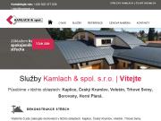 WEBOVÁ STRÁNKA KAMLACH & spol.s r.o.