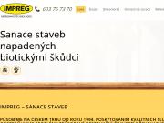 WEBOVÁ STRÁNKA Jaroslav Raška - Impreg Sanace staveb