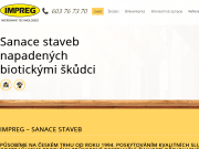 SITO WEB Jaroslav Raska - Impreg Sanace staveb