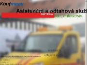 WEBOVÁ STRÁNKA Asistenční a odtahová služba - Jan Kaufmann NONSTOP