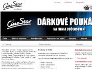 WEBOVÁ STRÁNKA CineStar s.r.o.