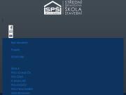 SITO WEB Stredni prumyslova skola stavebni, Ceske Budejovice, Resslova 2