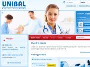 WEBOVÁ STRÁNKA UNIBAL s.r.o.