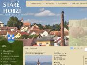 WEBOVÁ STRÁNKA Obec Staré Hobzí