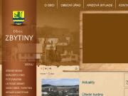 SITO WEB Obec Zbytiny