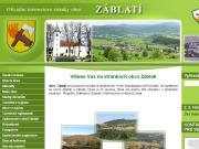 WEBOVÁ STRÁNKA Obec Záblatí u Prachatic