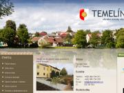 WEBOVÁ STRÁNKA Obec Temelín