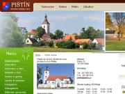 WEBOVÁ STRÁNKA Obec Pištín