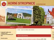 WEBOVÁ STRÁNKA Obec Horní Stropnice