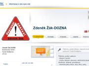 WEBOVÁ STRÁNKA Zdeněk Žák - DOZNA Dopravní značení České Budějovice