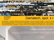 WEBSITE DAMATECH, spol. s r.o.