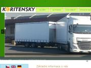 WEBOVÁ STRÁNKA Koritensky a.s.