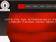 WEBOVÁ STRÁNKA Libor Čihák Deratizace Dezinsekce Dezinfekce
