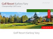 SITO WEB GOLF RESORT Karlovy Vary a.s.