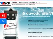 WEBOVÁ STRÁNKA VÝTAHY KARLOVY VARY spol. s r.o.