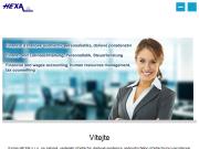 WEBOVÁ STRÁNKA HEXA, s.r.o. Účetní, daňové a ekonomické poradenství