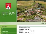 WEBOVÁ STRÁNKA Obec Jenišov
