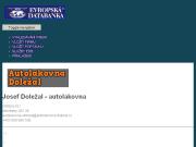 SITO WEB Josef Dolezal - autolakovna