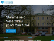 WEBOVÁ STRÁNKA Nemocnice Mariánské Lázně s.r.o.