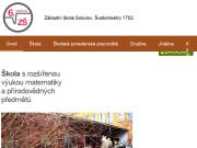 WEBOVÁ STRÁNKA Základní škola Sokolov, Švabinského 1702