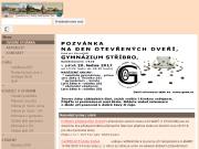 SITO WEB Gymnazium a Obchodni akademie Stribro