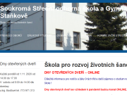 WEBOVÁ STRÁNKA Soukromá střední odborná škola a Gymnázium BEAN, s.r.o.