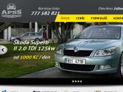 WEBOVÁ STRÁNKA Sladká Stanislava APSS Autopůjčovna Plzeň