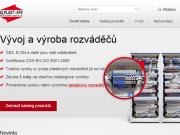 WEBOVÁ STRÁNKA ELPLAST-KPZ Rokycany, spol.s r.o. vývoj a výroba rozváděčů