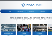 WEBSITE PROKAT invest s.r.o.
