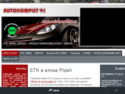 WEBOVÁ STRÁNKA Autokomplet - servis Plzeň s.r.o.