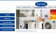 WEBOVÁ STRÁNKA SERVIS CARRIER Plze�, s.r.o