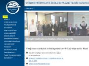WEBOVÁ STRÁNKA Střední průmyslová škola dopravní, Plzeň, Karlovarská 99