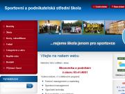 WEBOVÁ STRÁNKA Sportovní a podnikatelská střední škola, spol.s r.o.