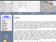 WEBOVÁ STRÁNKA �elezni�n� projek�n�-stavebn� kancel�� s.r.o.